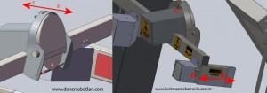 Mekanik kesme kalınlığı ayarı ve Optik Kalınlık ayarı