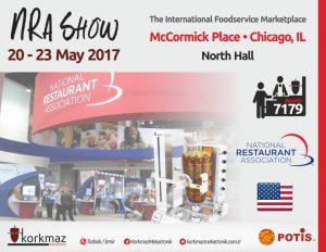 20-23 Mayıs 2017'de NRASHOW Chicago Fuarındayız!